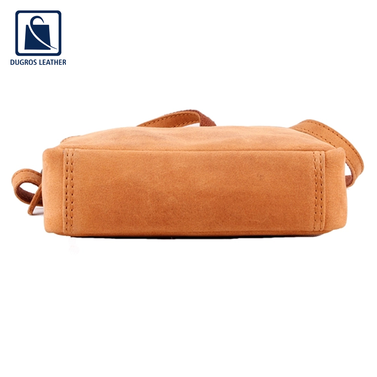 Top Quality Wholesale Genuine Leather Shopping Sling Bag for Women
