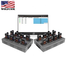 USA Fabrikant. Authentieke WOLFCOM 16-Man X2 Smart Docking Station voor Halo Politie Lichaam <span class=keywords><strong>Camera</strong></span> 'S. Automatische Uploads!