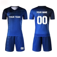 Wholesale cheap soccer uniforms for teams hot sale products newest design fully custom sublimation polyester fabric
