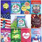 Products Holiday Flags New Products Winter Holiday Decorative 100% Polyester Christmas Garden Yard Flags