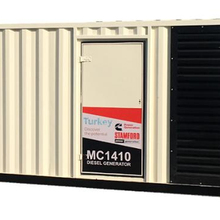 Containerised MC1410 <span class=keywords><strong>Standby</strong></span> <span class=keywords><strong>Cummins</strong></span> Alimentato Generatore Diesel con Stamford Alternatore.
