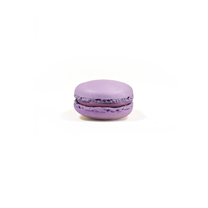 Blueberry Cookies Gluten free made in italy french macarons in 3 pieces box - Blueberry Macarons Cookies