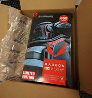 Factory Original 100% Genuine Sapphire Radeon RX Vega 64 8GB AMD Vega64 8G HBM2 Graphics Video Card