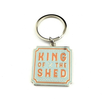 Supply 2019 hot sale promotional gifts custom metal keychain