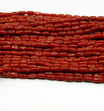 100% natural 3mm hilo de tubo rojo <span class=keywords><strong>coral</strong></span> collar