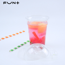 Clear PP Wegwerp Plastic Chinese Producten 18 oz/500ml-90 U Vorm Boba <span class=keywords><strong>Bubble</strong></span> Melk Thee Cup