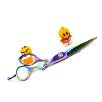 Professional 5.5'' and 6'' inch Titanium coated razor edge Japanese 440C colorful Barber Cutting scissors/shears