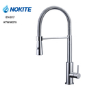 Cold and Hot Spring 304 316 Brushed Stainless Steel Brushed Kitchen Sink Tap Mixer Faucet