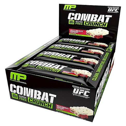 MusclePharm, Savaş Crunch, fıstık ezmesi Severler, 12 Bar, 2.22 oz (63g)
