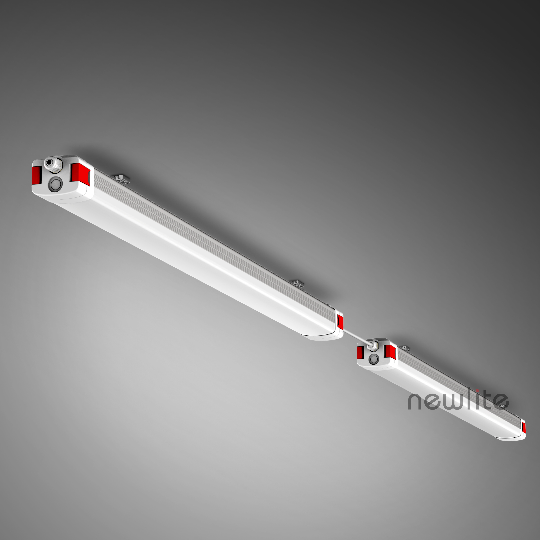 Fixtures IP65 rate waterproof lights led strip linear tri-proof linear tri-proof batten triproof
