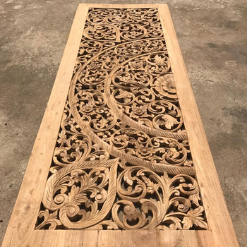 Carved Wood Panels Wall Art