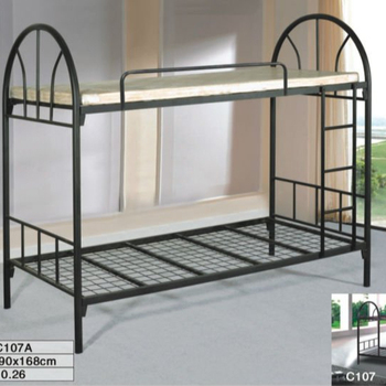 Saudi Arabic Strong Good Quality Bunk Bed Shiny Painting Bunk Bed Thick Metal Iron Steel Bunk Bed Contract Furniture Bunk Buy Saudi Arabic Metal