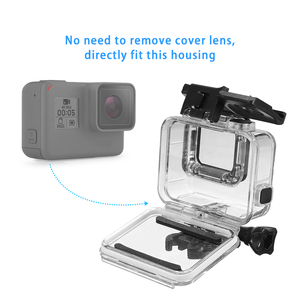 Waterproof Housing Case for GoPro HERO 7/6/5 Black, Underwater Dive Case Shell with Bracket Accessories for Go Pro