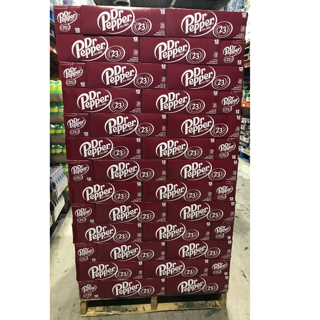 DR Pepper For Sale In Bulk 12oz cans