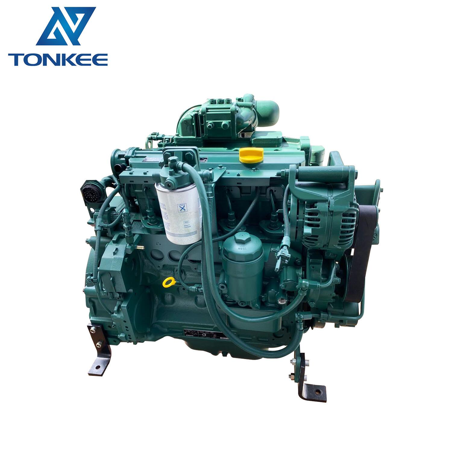 Construction Machinery Parts genuine used 14521398 VOE14521398 D4D ECE2 complete engine assy EC140 EC140B excavator engine assy