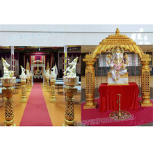 Traditionele Bruiloft Entree Decor met <span class=keywords><strong>Ganesha</strong></span> Indian <span class=keywords><strong>Ganesha</strong></span> Thema Bruiloft Entree Exclusieve Bruiloft Welkom Gate/Standbeelden