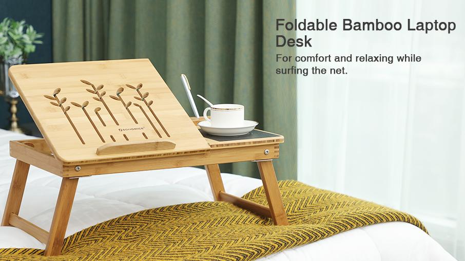 Faltbare Laptop Tisch Für Bett Holz Stehend Laptop Schreibtisch Bett Tragbaren Laptop Schreibtisch