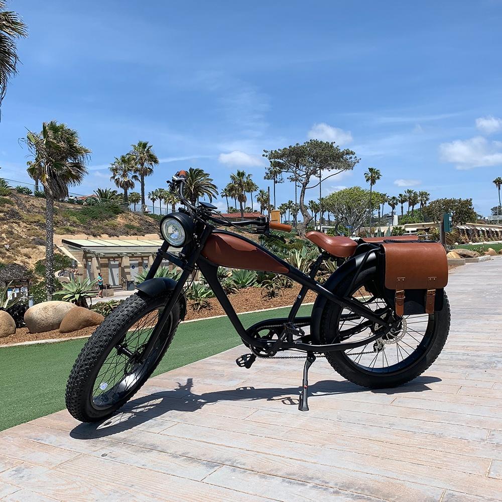 Vélo électrique Vintage gros E/croiseur de plage/vélo électrique 500W rétro gros Pedelec