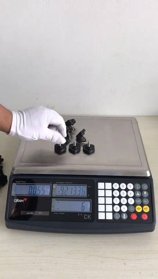 30 kg אלקטרוני timbangan תעשייתי ספירה במשקל בקנה מידה