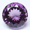Amethyst Faceted Round Cut Loose Natural Amethyst Gemstone Manufacturer for Silver Jewelry