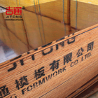 12mm Thickness Phenolic Red Film Faced Hardwood Plywood for Construction