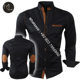 Wholesale High Quality Customized Motorcycle Shirt CE Approved Removable Protectors Made In Sialkot Pakistan K-27