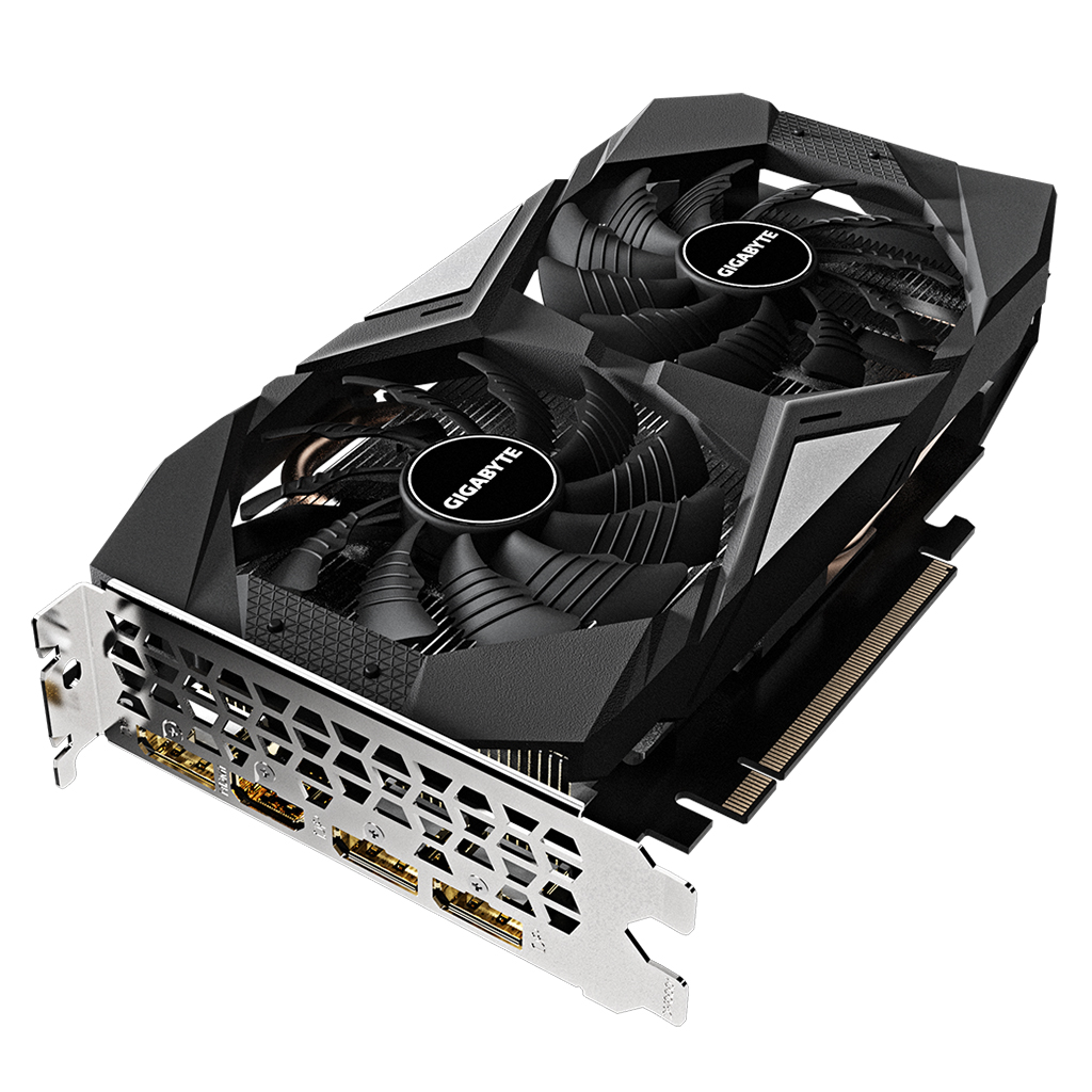 GIGABYTE NVIDIA GeForce GTX 1660 OC 6G Gaming Graphics Card with 1830MHz Core Clock 6GB GDDR5 192-bit Memory Interface