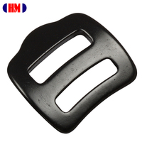 Aluminum Double Back Adjuster Buckle
