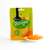 Halal 10% Natural Fruits candy jelly beans orange flavoured No gelatin zip lock package