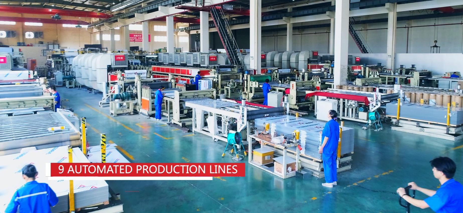 Acp paneles compuestos de aluminio fabricante en Shanghai