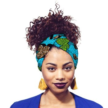 fashion print Head Wraps for African women African Head Scarf