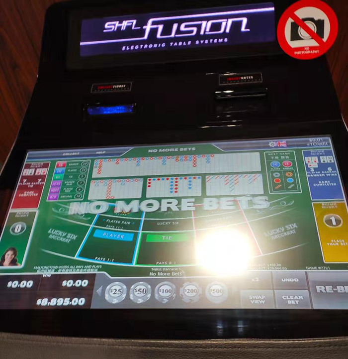 TMD Touch 21,5 zoll display slot Sicbo roulette casino tisch touchscreen monitor