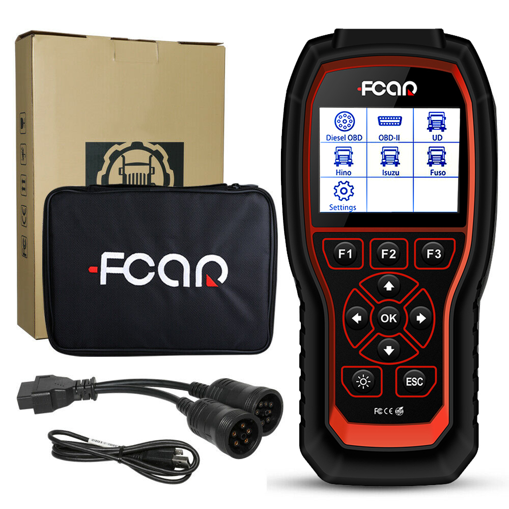 FCAR HDS 300 universal auto diagnostic scanner code reader for cars and trucks full system diagnosis free update OBD EOBD