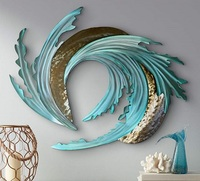 Sand and Sea Metal Wall Art