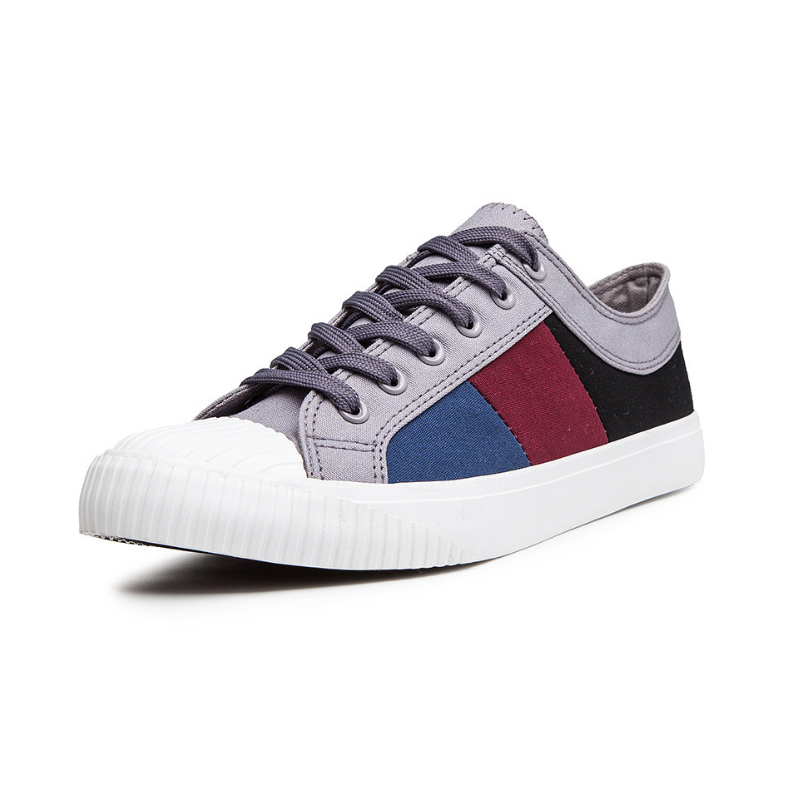 2020 New Spring Low Top Splice Casual Canvas <strong>Shoes</strong> <strong>Men</strong>