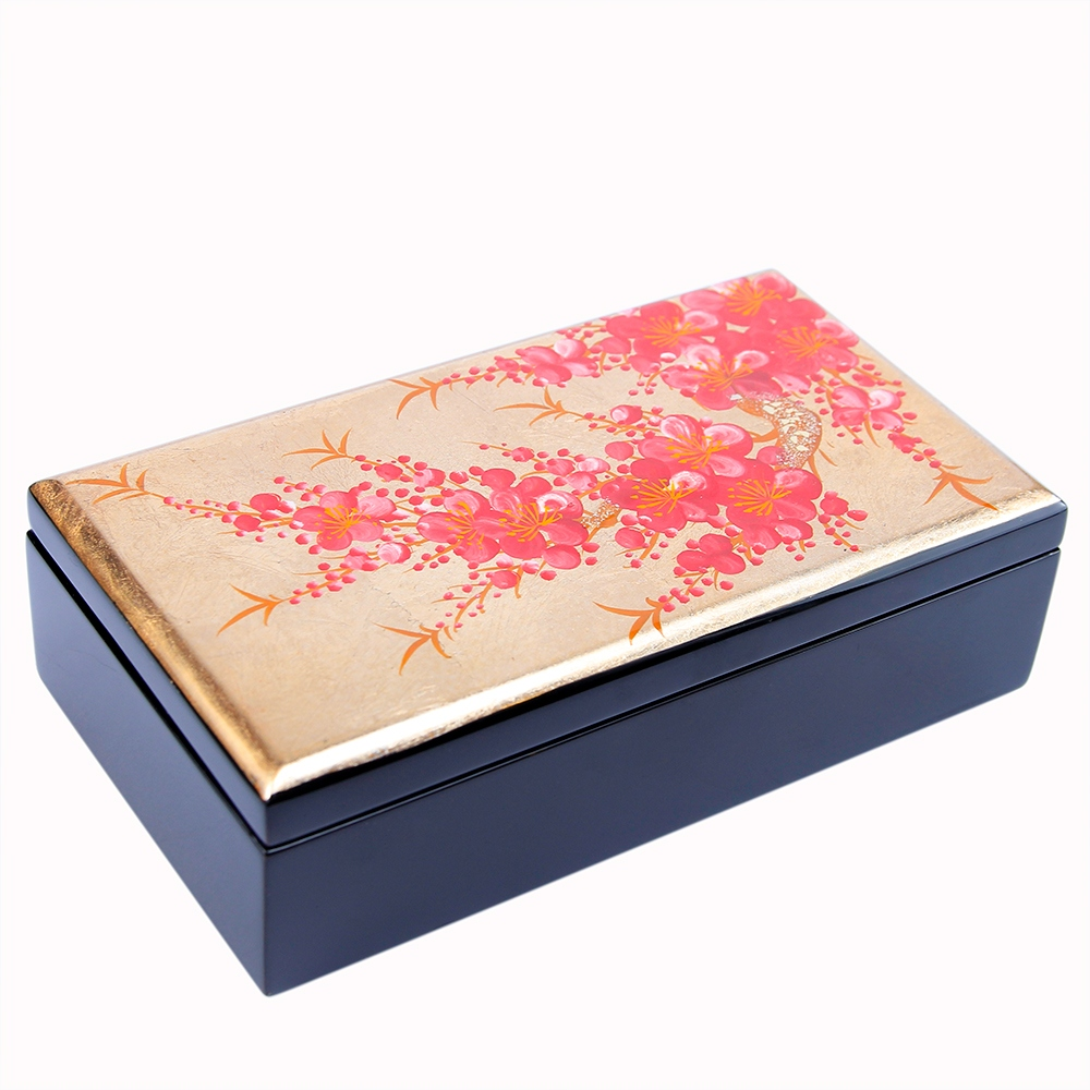 12x20cm Viet Nam Retail Handicraft Extremely Durable Wooden Top Gift Beauty Home Decoration Lacquer Storage Box
