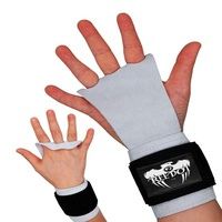 Hot Sale Private LOGO Non Slip Leather hand palm grip for gym training