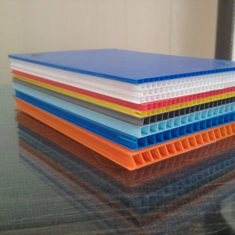 new 2020 corrugated plastic sheet for printing and packaging