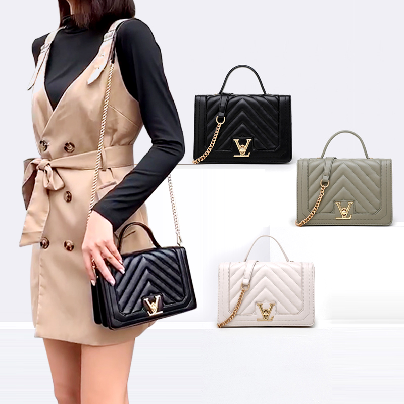 2020 New V word ladies square shoulder bags designers handbags for <strong>women</strong>