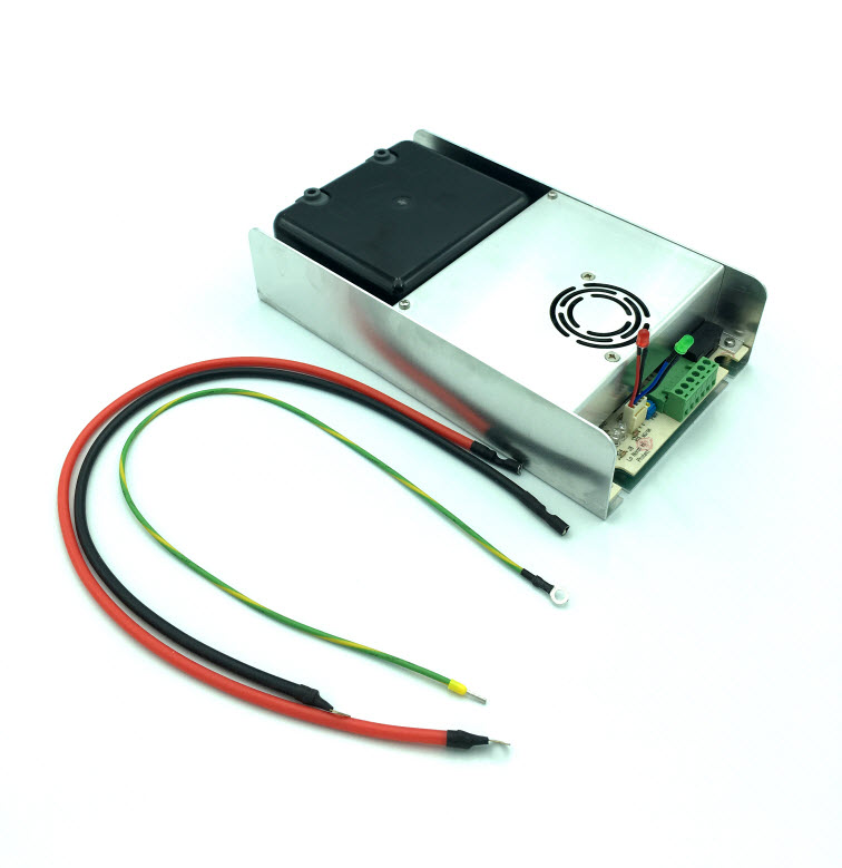 PWM high voltage power supply for kitchen exhaust