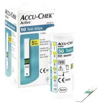 Accu Chek ActiveTest Strip in Health