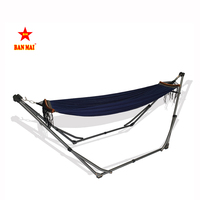 Hot Product In The Tradefair Market With Outdoor Folding Standing Baby Hammock With Mosquito Net