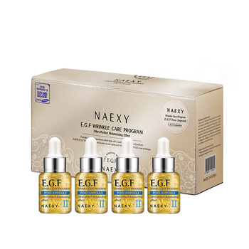 NAEXY E.G.F PORE AMPOULE SET (4PCS) from korea high-focus winkle-care brightening skin balance cruelty-free radical enriched