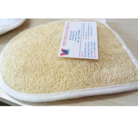 best sell 2019 New eco natural cleaning loofah sponge scrubber origin vietnam`