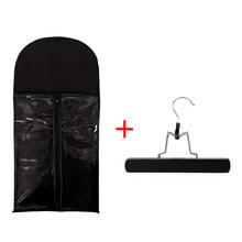 Alileader 10 шт портативный для хранения волос для наращивания сумка для пряди человеческих волос Уток упаковочный костюм чехол на молнии сумка ...(Китай)
