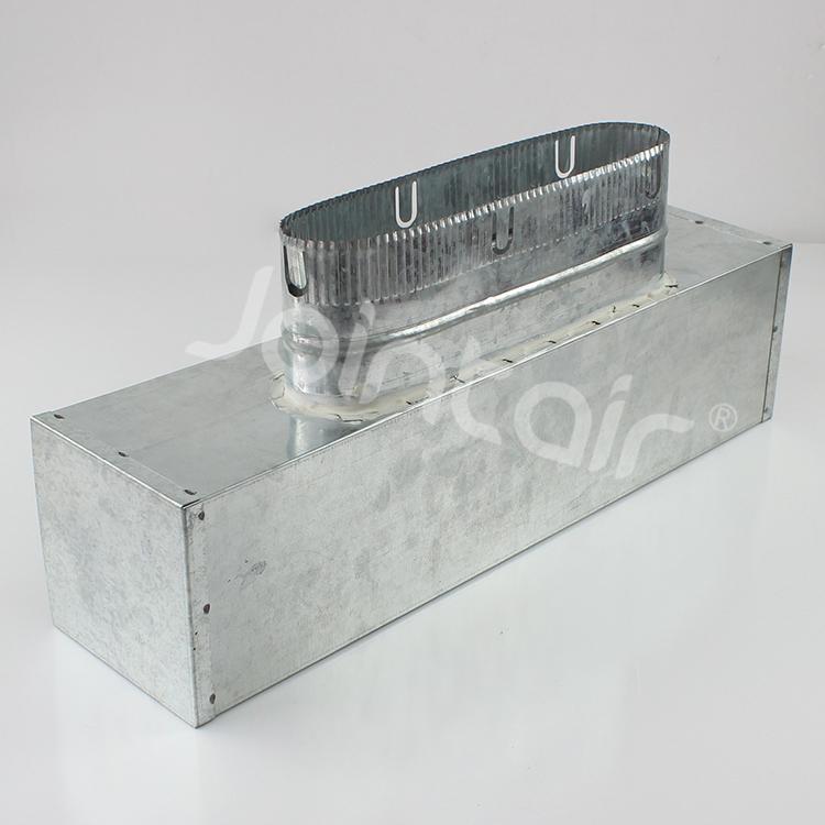 Hvac Ventilation Uni Boot Air Diffuser Ceiling Plenum Box