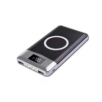 Wireless charging powerbank battery portable mobile charger Qi wireless power bank 10000mah 20000mah