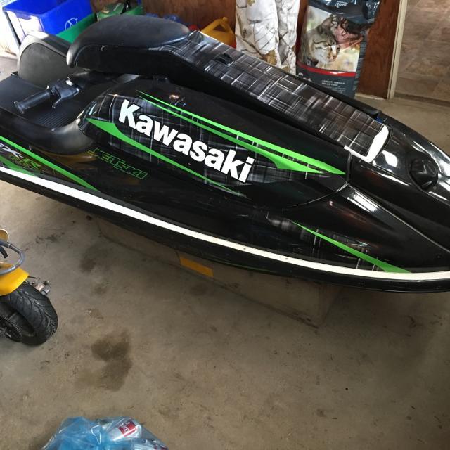 Kawasaki Jet Ski gancio di acqua fino