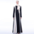 Special Color-patch Dress Muslim Women Loose Abaya Dress