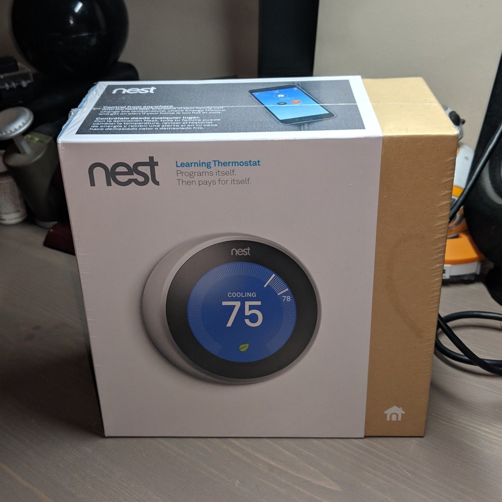 Vente en vrac! Nest Learning Thermostat T3007ES 3rd Génération
